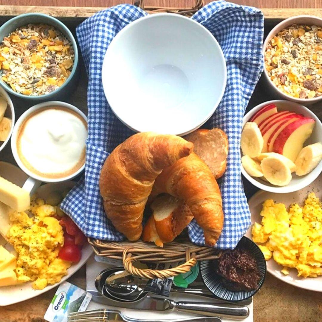 NIMO Frühstück Tablet