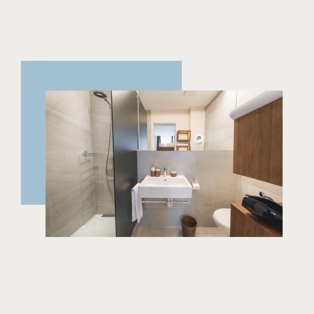 Wohnbeispiel Badezimmer Premium Doppelzimmer